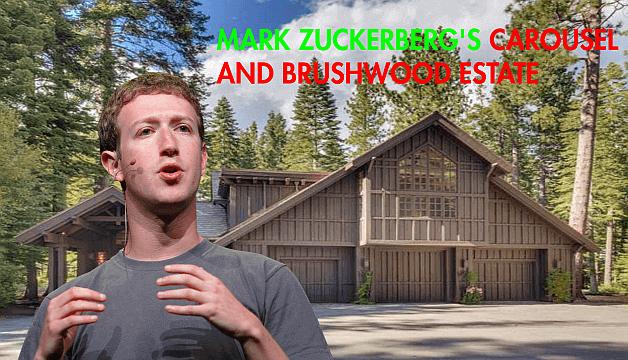 Facebook Founder Mark Zuckerberg's Carousel and Brushwood Estate