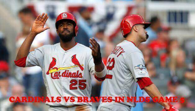 Cardinals had Set the Record by Scoring 10 Runs in First-Inning Against Braves in NLDS Game 5