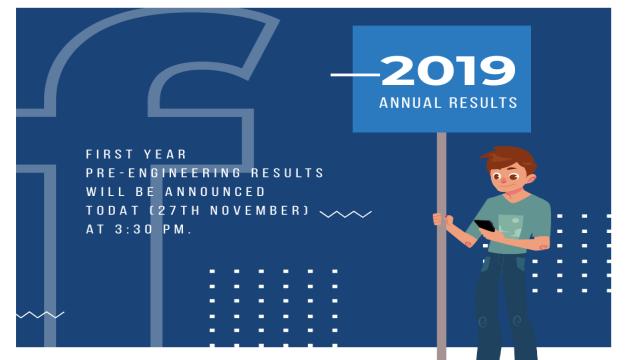 HSC Part 1 (First Year) Pre-Engineering Result 2019 Karachi Board (BIEK)