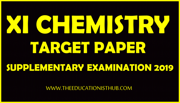 1st Year Chemistry Supply Guess Paper 2019 Karachi Board (BIEK)