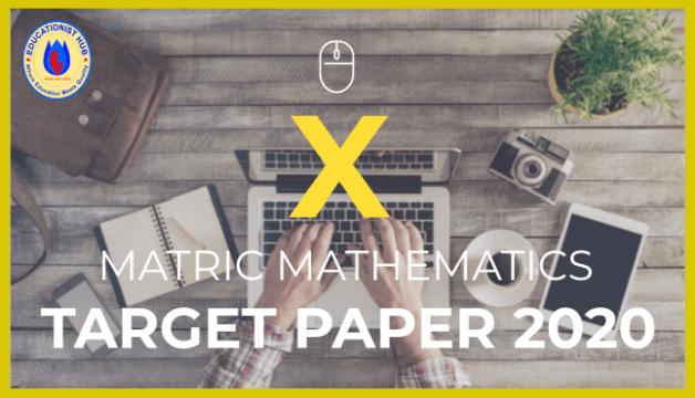 10th class math guess paper 2020 karachi board (BSEK)