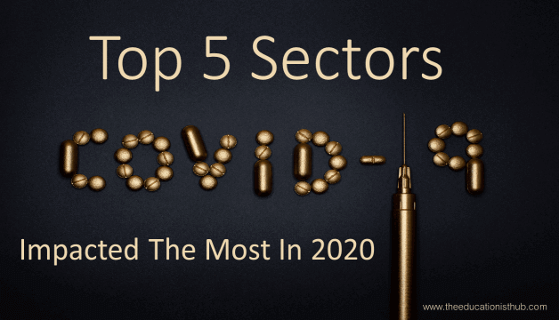 Top 5 Sectors COVID-19 Impacted The Most in 2020