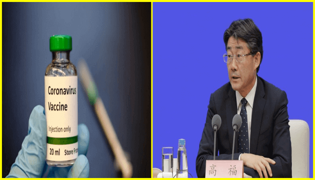 CHINA Health Boss Dr Gao Fu said a covid 19 vaccine could be up and running in September as the world is looking for a cure