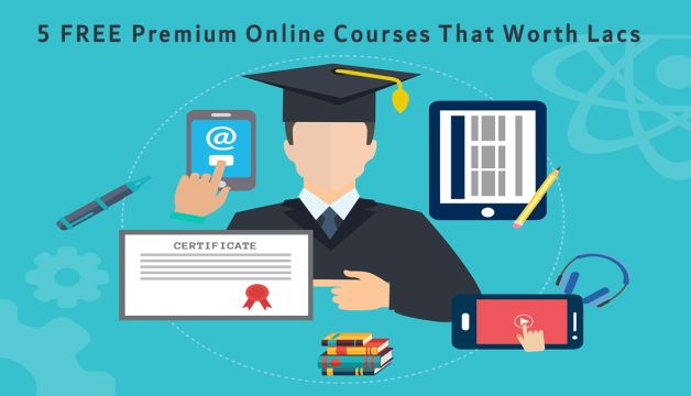 Best 5 FREE PREMIUM ONLINE Courses that worth lacs