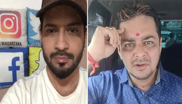 hindustani bhau vs waqar zaka