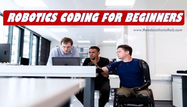 robotics coding for beginners
