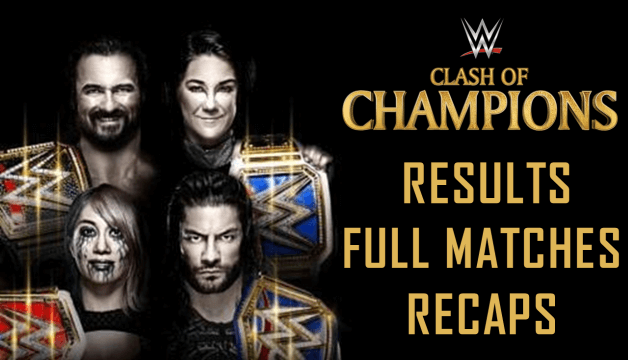 WWE Clash of Champions Results 2020, Live Stream, Full Match Coverage & Recaps