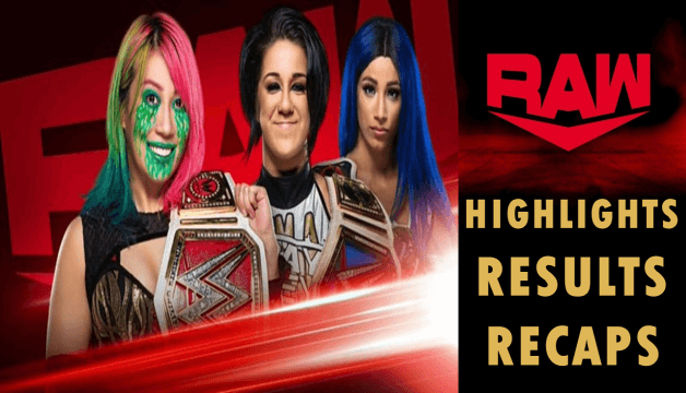 WWE Monday Night RAW 28th September 2020 Highlights, Preview, Results, Live Coverage & Recap