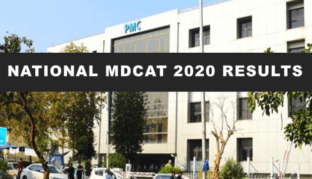 National MDCAT 2020 Result Announced By PMC (Check Here)