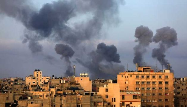 Israel Hits 22 Palestinians, Including 9 Children, In Air Strikes In Gaza