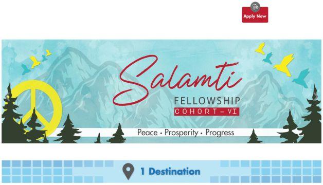 Salamti Fellowship 2021 in Pakistan Fully Funded Youth Program Cohort VI