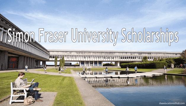 Simon Fraser University Scholarships For International Students in Canada