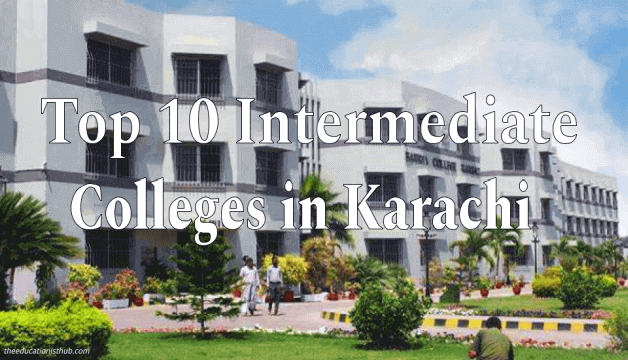top 10 best Intermediate FA FSc colleges in Karachi