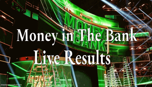 WWE Money in the Bank Results 2021, Winners Live Updates