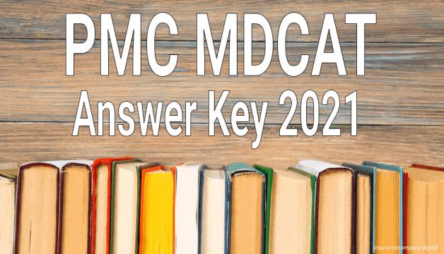 PMC UHS MDCAT Answer Key 2021 PDF
