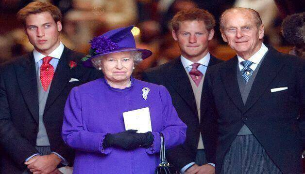 Prince Harry Says Queen Elizabeth Will Be 'Fine' Without Prince Philip